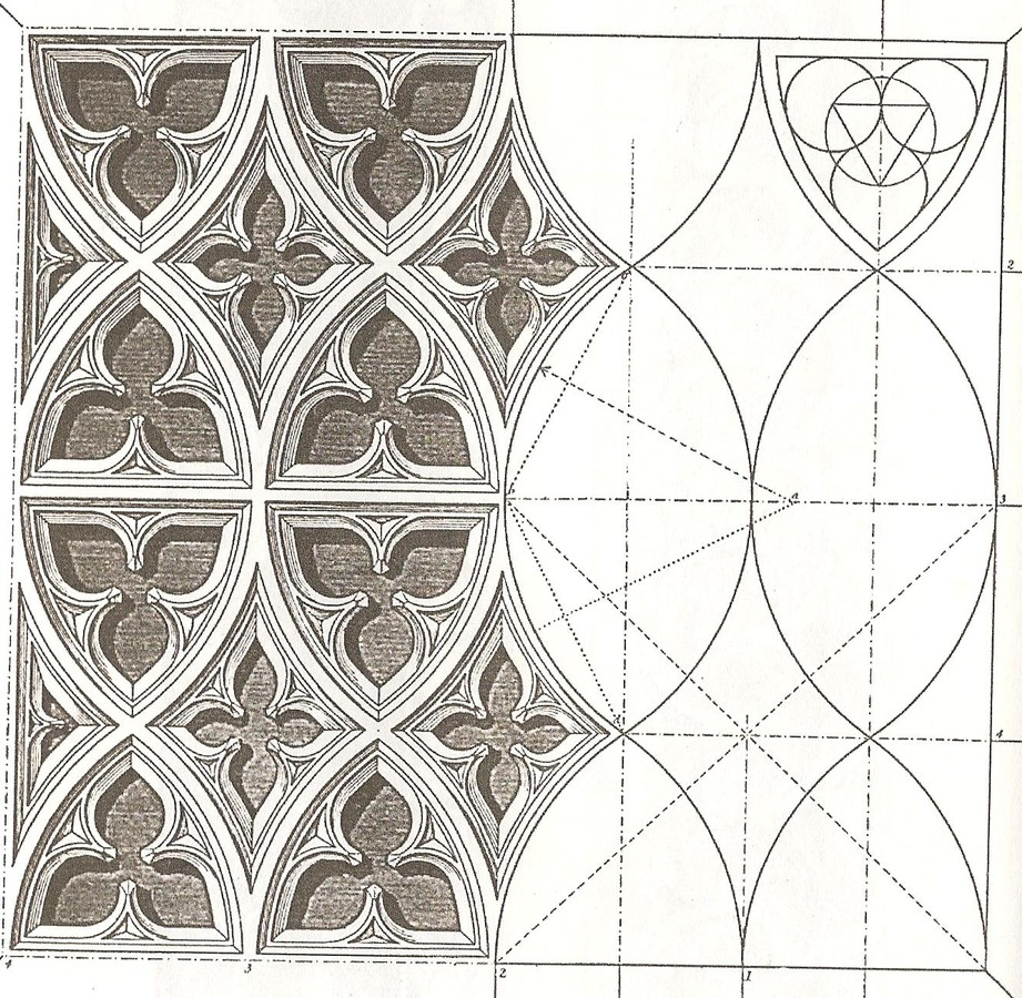 geometry in gothic architecture Architecture sagrada familia discover how gaudi planned the construction of the sagrada familia and the relationship between architecture and symbolism.